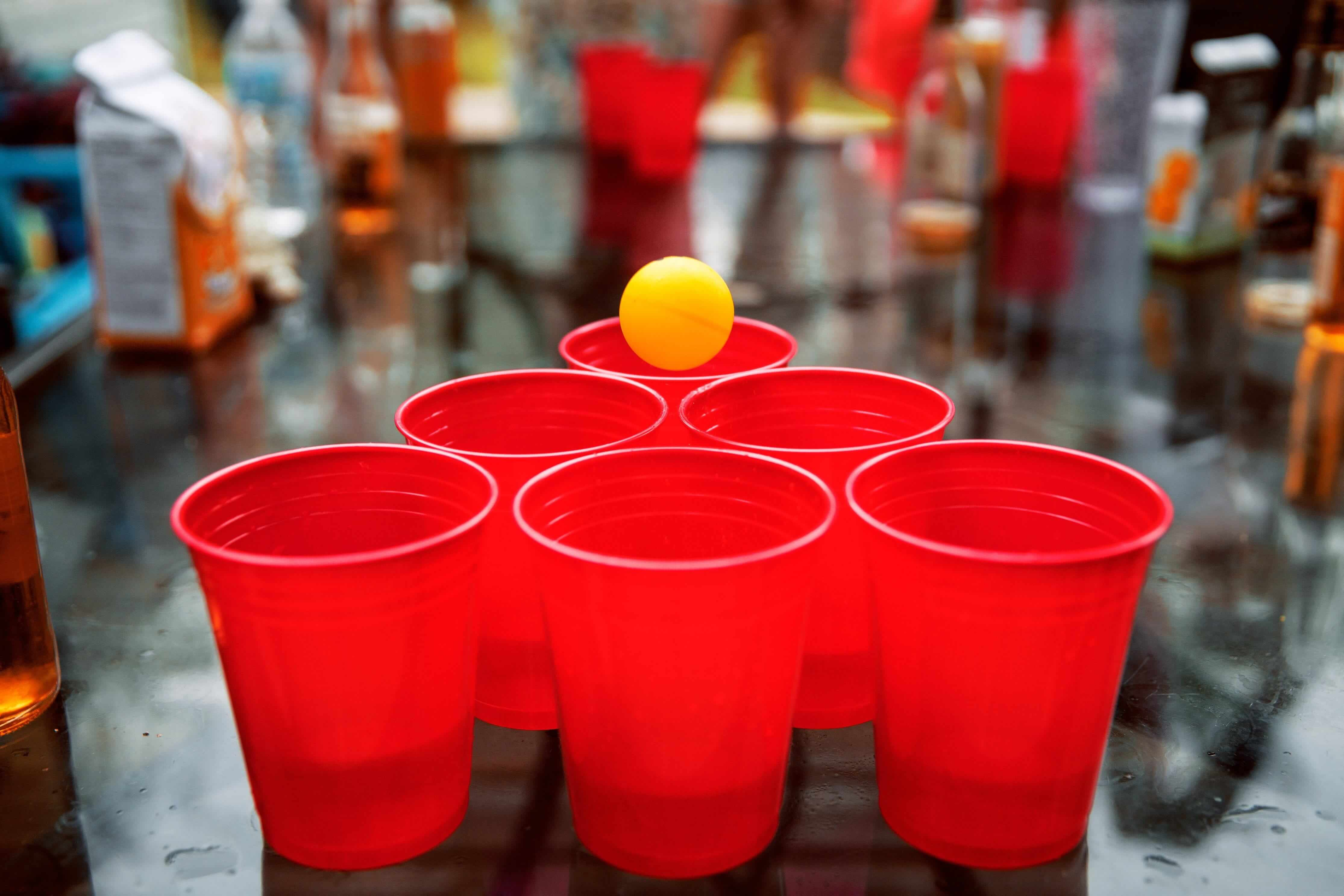 Teach in China_icebreaker-cup-pong