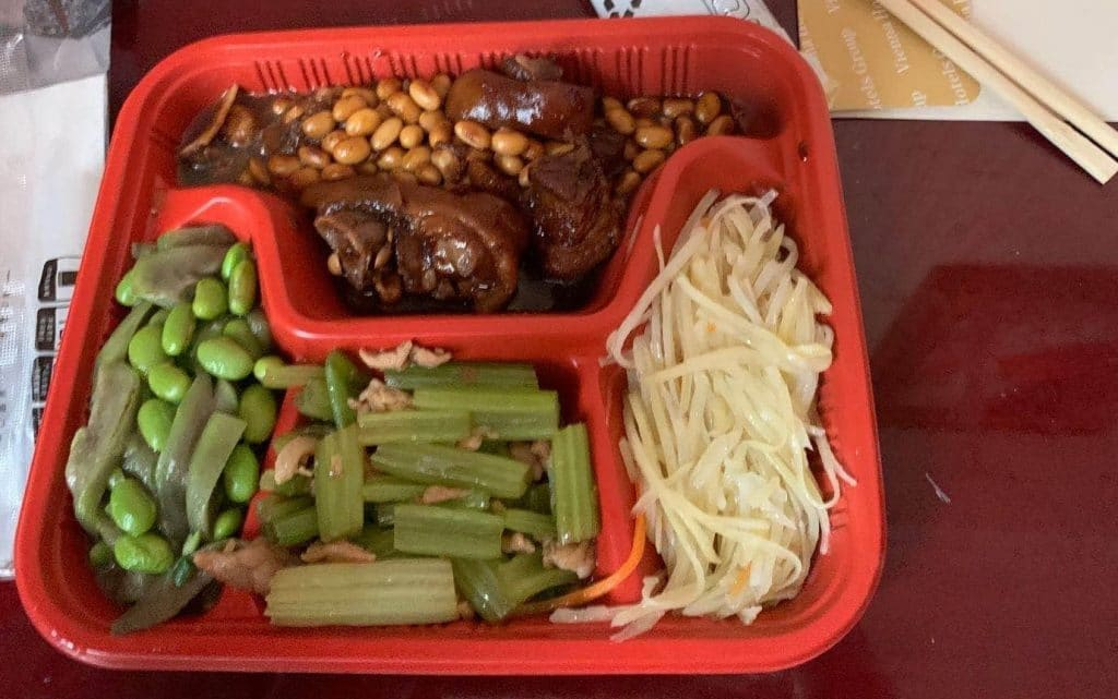 Teach in China - Food to expect in China Centralised Quarantine